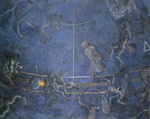 Ph. Pesello (attr.) Emisfero celeste, 1442 ca., Sagrestia vecchia, Firenze